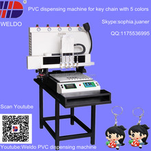 liquid PVC machine inject soft key chain