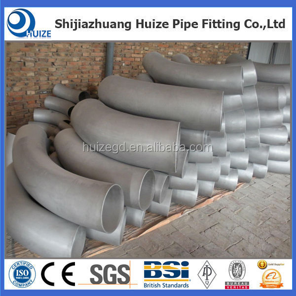asme b16.49 carbon steel pipe fitting 60 degree pipe bend