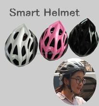 Promotion Best Quality Cycling Helmet with built in Bluetooth for Bike Racing