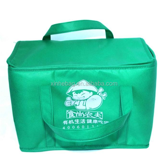 disposable non woven cheap lunch cooler bag