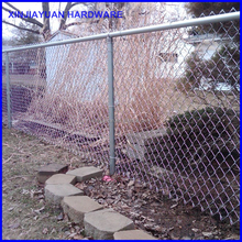 cheap chain link fence galvanized for livestock breeding by weaving
