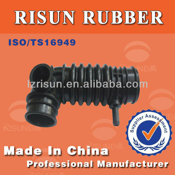 Custom Moulded Vulcanized EPDM NBR Rubber Bellows spare parts