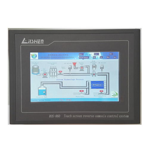 online touch color screen reverse osmosis controller for water purification ros-860