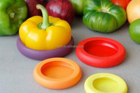 New arrivel LFGB food grade silicone kitchen tools fruit and vegetable cover food saver