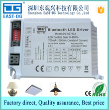 R2742 dual channel smart phone APP Bluetooth MESH 4.0 CE dimming led driver constant current adjustable RF remote controller