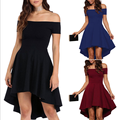 lx10169a new fashion ladies off shoulder dress hottest dresses women sexy