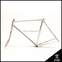 Chromium-molybdenum Steel Retro Lug 700C Road bike Frame Bicicletas Bike Parts Light Weight City Road Bicycle Frame