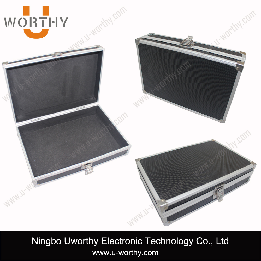 Heavy Duty Durable Metal Frame Aluminum Watch Packaging Box with Combination Lock
