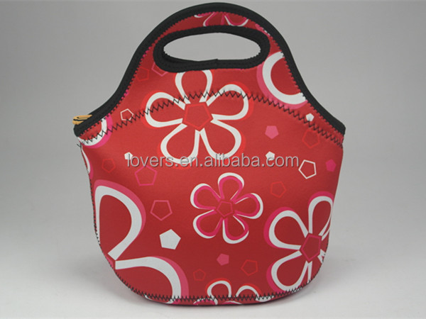korea style neoprene thermo lunch bag