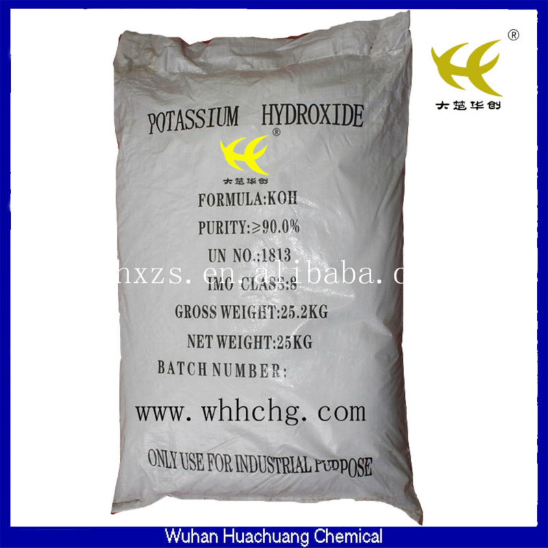 2013 New!! Manufacturing KOH Potassium Hydroxide/ Potash Lye