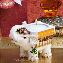 Free Shipping Popular Indian Elephant DesignCandle Favor for Wedding Party Decoration Gift