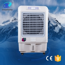 Fan blade remote control stand misting air cooler