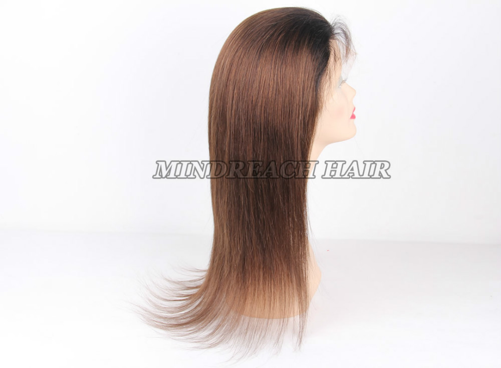 Good Quality Human Hair Full Lace Wig 109