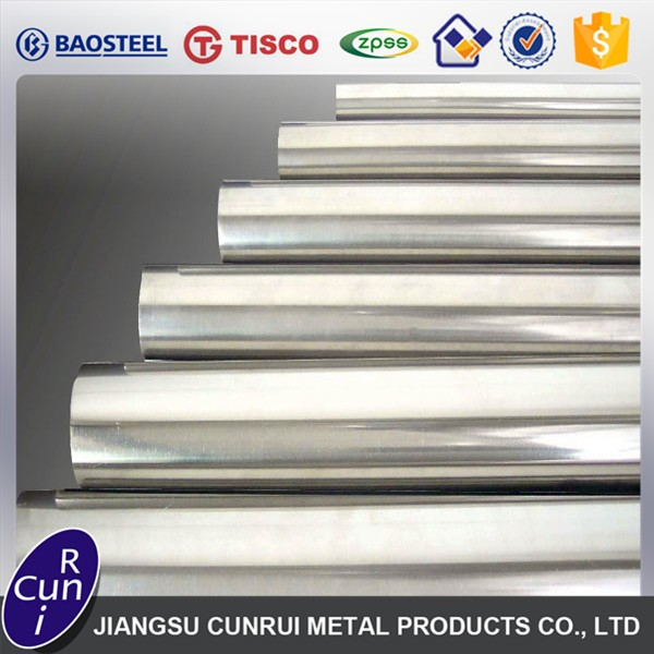 Manufacturer China Welded top quality stainless steel pipe grade 304