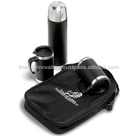 Thermos Flask and 2 Mug Set