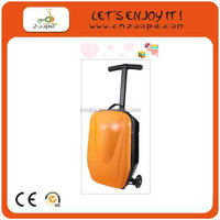 China manufacturer plastic mini kick scooter suitcase parts scooter luggage