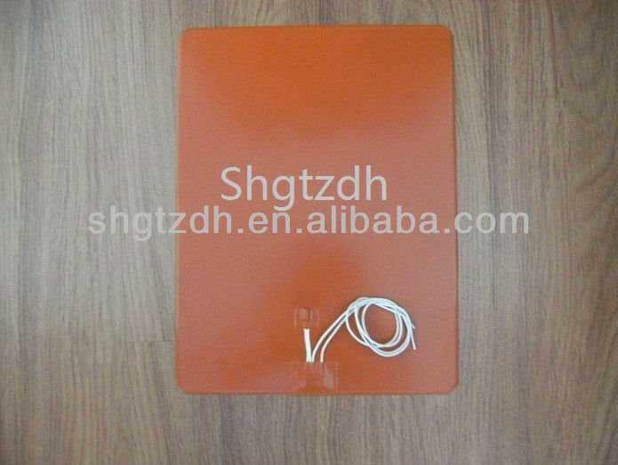 Silicone Rubber Heater pad/sheet