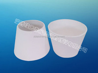 Alumina Cone Shaped Tube Used In Equipment Liner