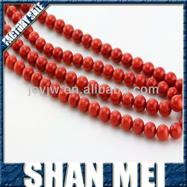 wholesale decorative original natural red coral bead necklace,12mm