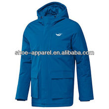 Durable Mens WANAX Shiny Nylon Jacket Fashion Design
