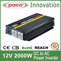 Power inverter circuit diagram 2000W,off grid 12V DC to 220V/110V AC,with CE CB ROHS certificate