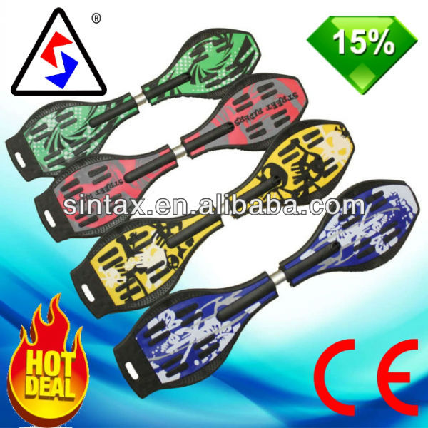 Inline Skateboard Caster Street Land Surf Wave Board