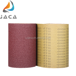 Heated Aluminum Abrasive Cloth Roll For Sand Belt