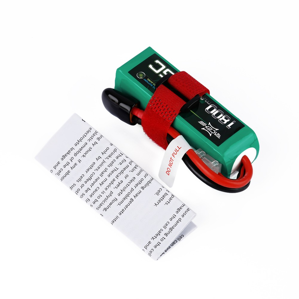 ACEHE 14.8V 1800mAh 75C High-Discharge Rate Powerful Battery