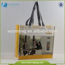 Recycle Non Woven Handle Carrying Bag