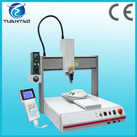 Two-part epoxy mixing benchtop glue dispensing machine