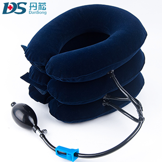 Full flannel neck traction/inflatable air neck traction/cervical neck traction RC-08S