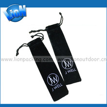 High quality long velvet Cutlery knife fork spoon packing pouch
