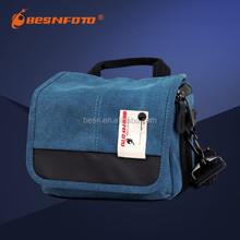 Besnfoto BF-1015 Cute navy blue universal mirrorless camera bag, waterproof camera dry bag
