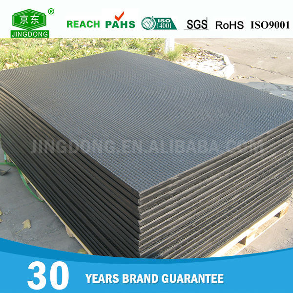 Chinese factory wholesale cheap rubber matting for horses stables