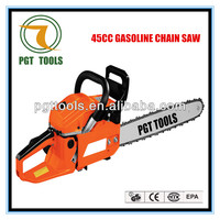 Gasoline electric start chainsaw