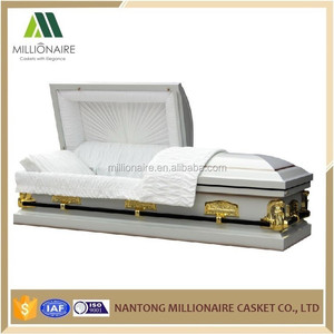 china wood and metal casket supplier
