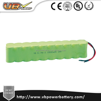 High discharge rate Nimh battery 1.2V 2.4V 12V 24V Low Self Discharge battery pack