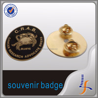 custom plastic pins round badges security officer badges fake badges