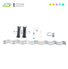 Preformed ADSS Aluminum Suspension Clamp