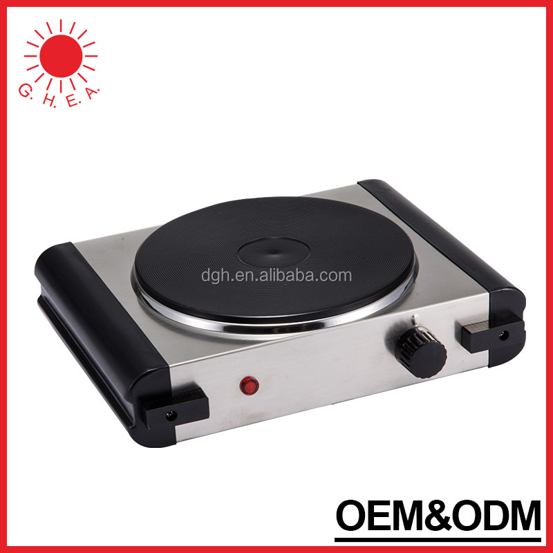 GH-315 High quality electric hot plate single burner metal electric stove induction hot plate for cooking