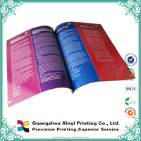 New High Quality Instruction Booklet Printing