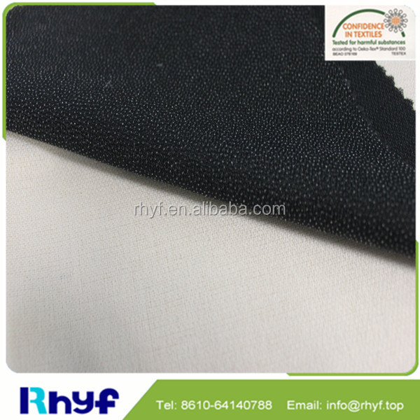 Double dot woven fusible interlining fabric for garments