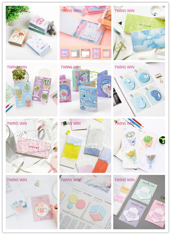 Chinese office stationery products flower memo sticky note 598