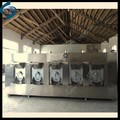 stainless steel made cashew nut roasting machine/cashew nut roaster