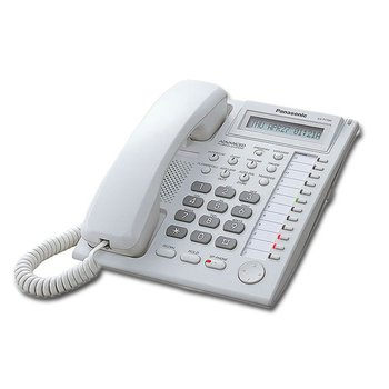 Proprietary Telephone with 12-CO buttons and 1-line display with backlight KX-T7730