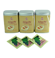 Private label organic ganoderma reishi mushroom lingzhi slimming herbal tea