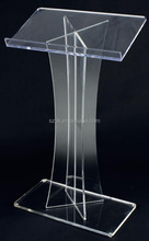 Plexiglass Used Acrylic Podium Clear Speaker's Church Lectern
