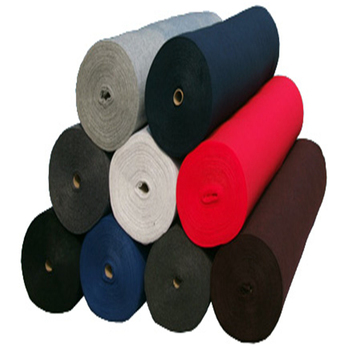 Non woven Manufacturers made in China Needle punching polyester felt fleece fabric