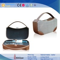 wholesale products pvc wine bag wine box with handle