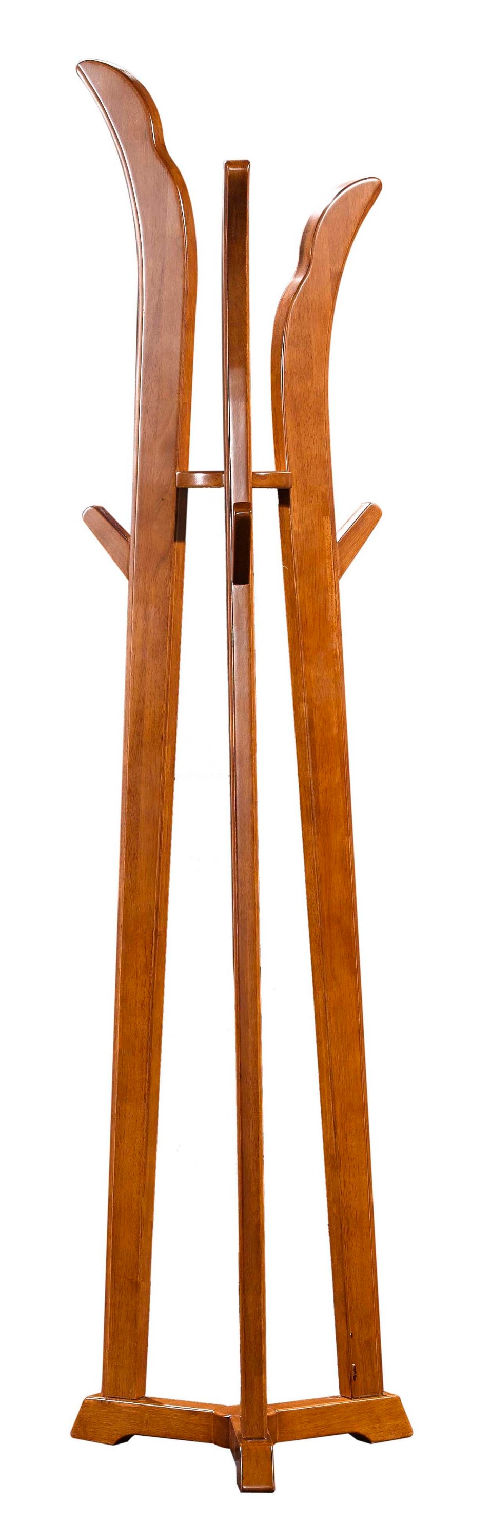 Modern classic bedroom home furnishing wooden coat rack stand 8188